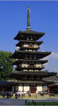 薬師寺東塔の画像